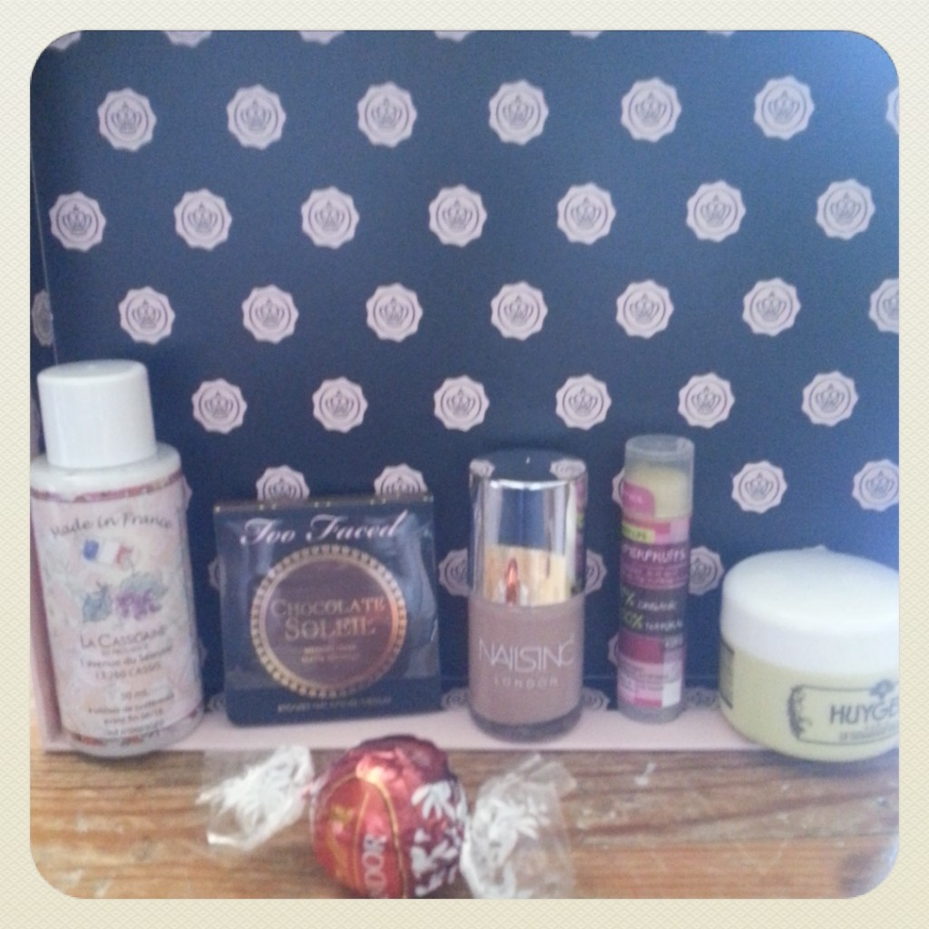 GLOSSYBOX Octobre rose