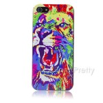 coque lion multicolor - - Born Pretty Store