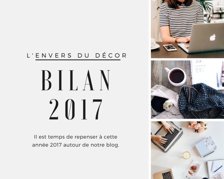Bilan blogging 2017 - L'envers du décor