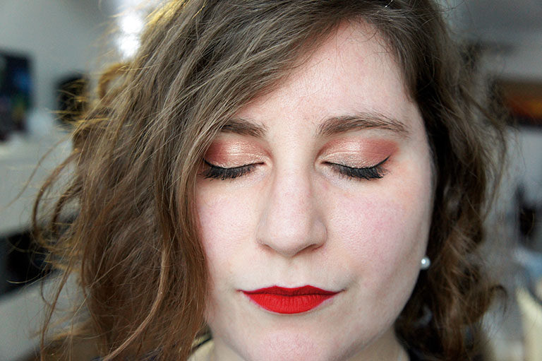 Make up noel - palette Peach de too faced - Happiness Boutique