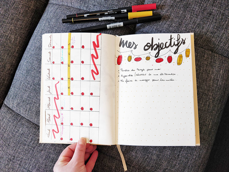 bullet journal fevrier 2019 - surunpetitnuage.fr