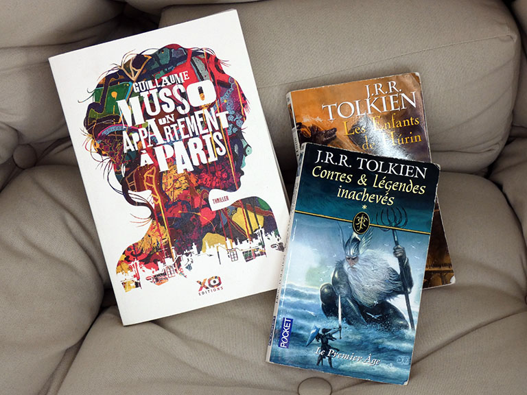 Lectures du moment - Musso - Tolkien