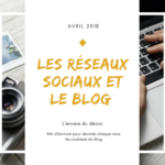 Les réseaux sociaux et le blog